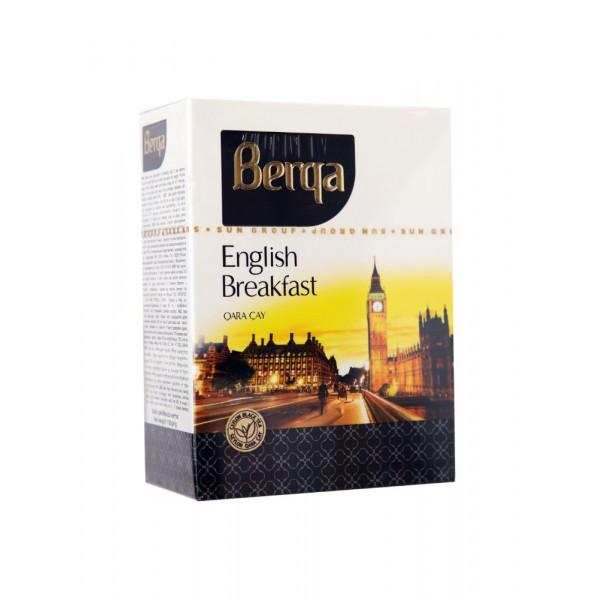 Berqa breakfast qara çay 100 gr qutu