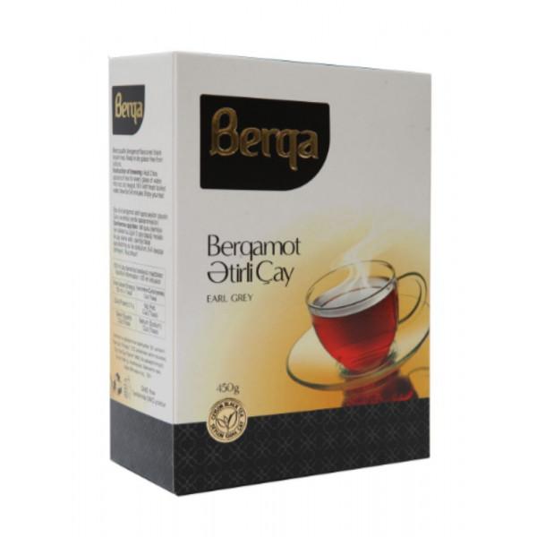 Berqa earl grey qara çay 225 qr qutu